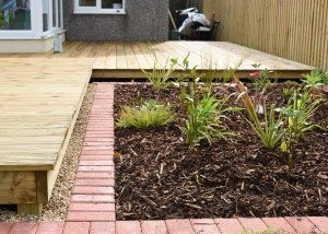 Timber decking specialists in Weymouth, timber decking, Weymouth, garden decking, wooden decking, wooden deck, feature planting