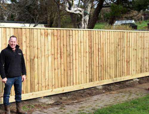 Installing feather board fencing